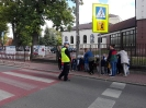 """SPOTKANIE Z POLICJANTEM """"BEZPIECZNA DROGA DO SZKOŁY"""".-14"""