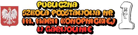 Publiczna Szkoła Podstawowa Nr 1 im. Marii Konopnickiej w Garwolinie